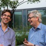 Bouleturnier des Historischen Seminars 2014. Richard Engl und Joachim Schneider