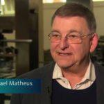 Prof. Dr. Michael Matheus bei der Tagung Reviewing Gutenberg. Bild: SWR 2018.